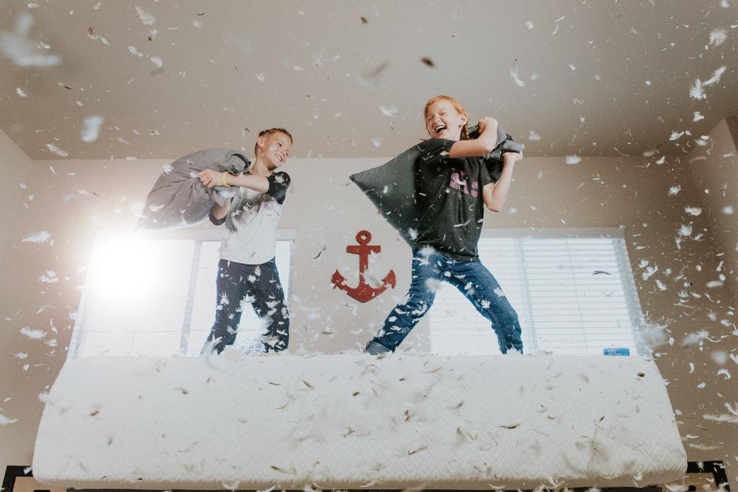 Home office z dzieckiem – sport ekstremalny